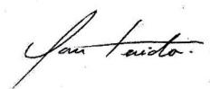 My signature 3 Ian Tenido
